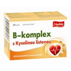 B Komplex, slinivka, tkáně, nachlazení 30 tbl / slinivka