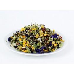 Průduškový čaj, velmi chutný 65g / kašel, nachlazení, nevadí nejmenším dětem