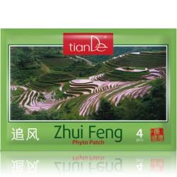 Zhui feng náplasti forte 4ks / pohmoždění, namožení svalů, křeče hladké svalstvo