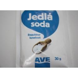 Jedlá soda 30g / do solných koupelí