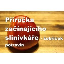 Příručka pro začínající slinivkáře - žebříček potravin / e-book zdarma k objednávce