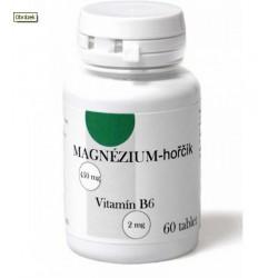 Hořčík + B6, 60 tablet / magnesium s vvitamínem B6