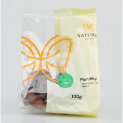 Meruňky nesířené, bez cukru 100g / slinivka, jih.