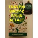 Bylinný sirup na zažívání 250g / byliny z Altaje, na trávení - extra účinky čistých bylin