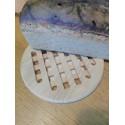 Podložka pod horký chléb 19 cm , kruh / kaučukové dřevo