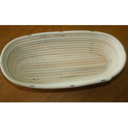 Ošatka oválná (tak akorát) 29,5 cm / domácí chléb, světlá pedig