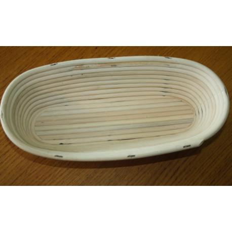 Ošatka oválná akorát 29,5 cm / domácí chléb, světlá pedig