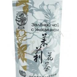 Zelený čínský čaj s jasmínem 100g / TOP kvalita, provincie Zheiang