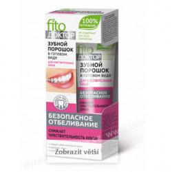 Zubní prášek na citlivé zuby 45ml / bez parabenů, SLS, SLES,