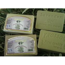 Olivové mýdlo s levandulí 100g / bez chemie